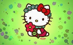 Ashley Wallpaper Gambar Gerak Hello Kitty