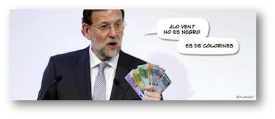 Rajoy , dinero negro, colorines, Mariano, caja b, PP, Bárcenas