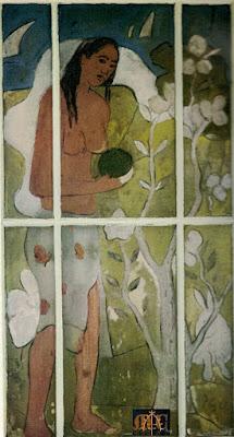 Tahitienne debout by Paul Gauguin