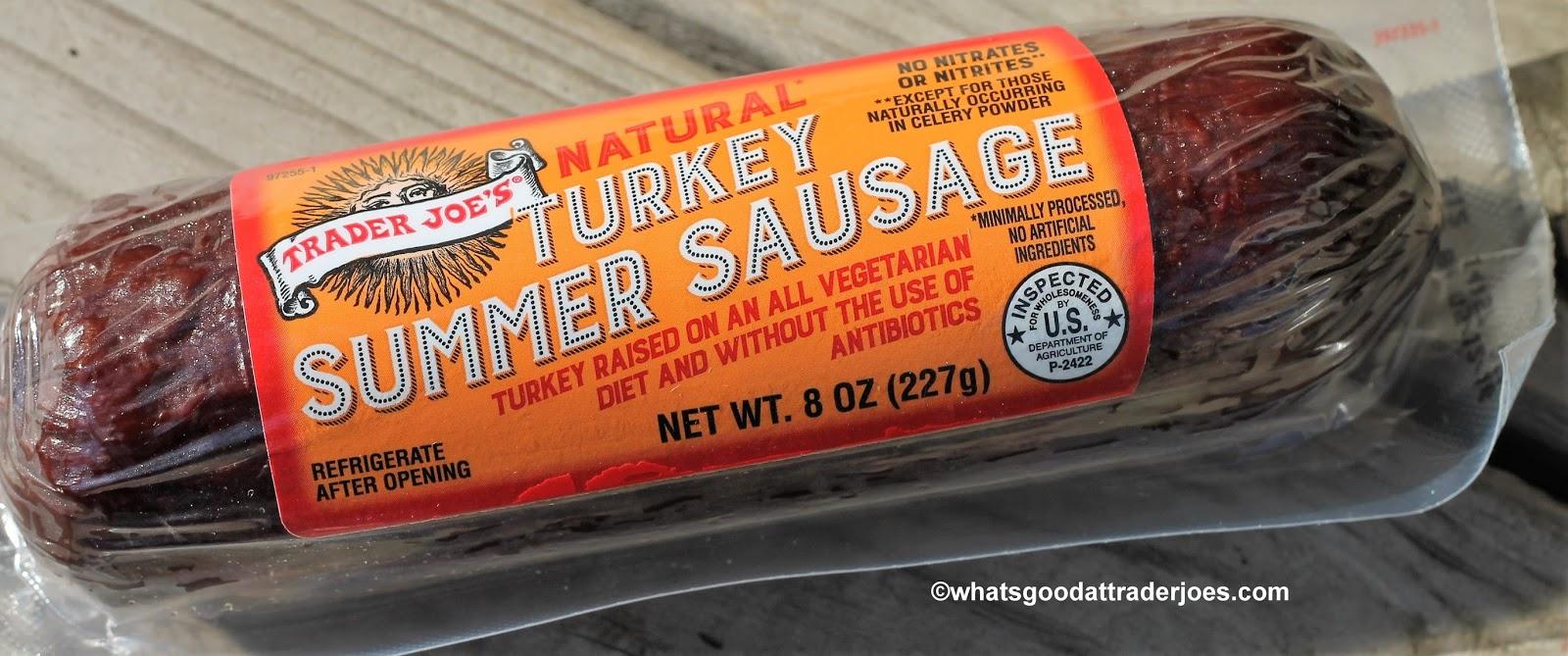 What's Good at Trader Joe's?: Trader Joe's Natural Turkey Summer Sausage