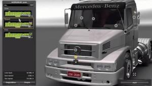 Mercedes Benz 1634 v 2.0 truck mod
