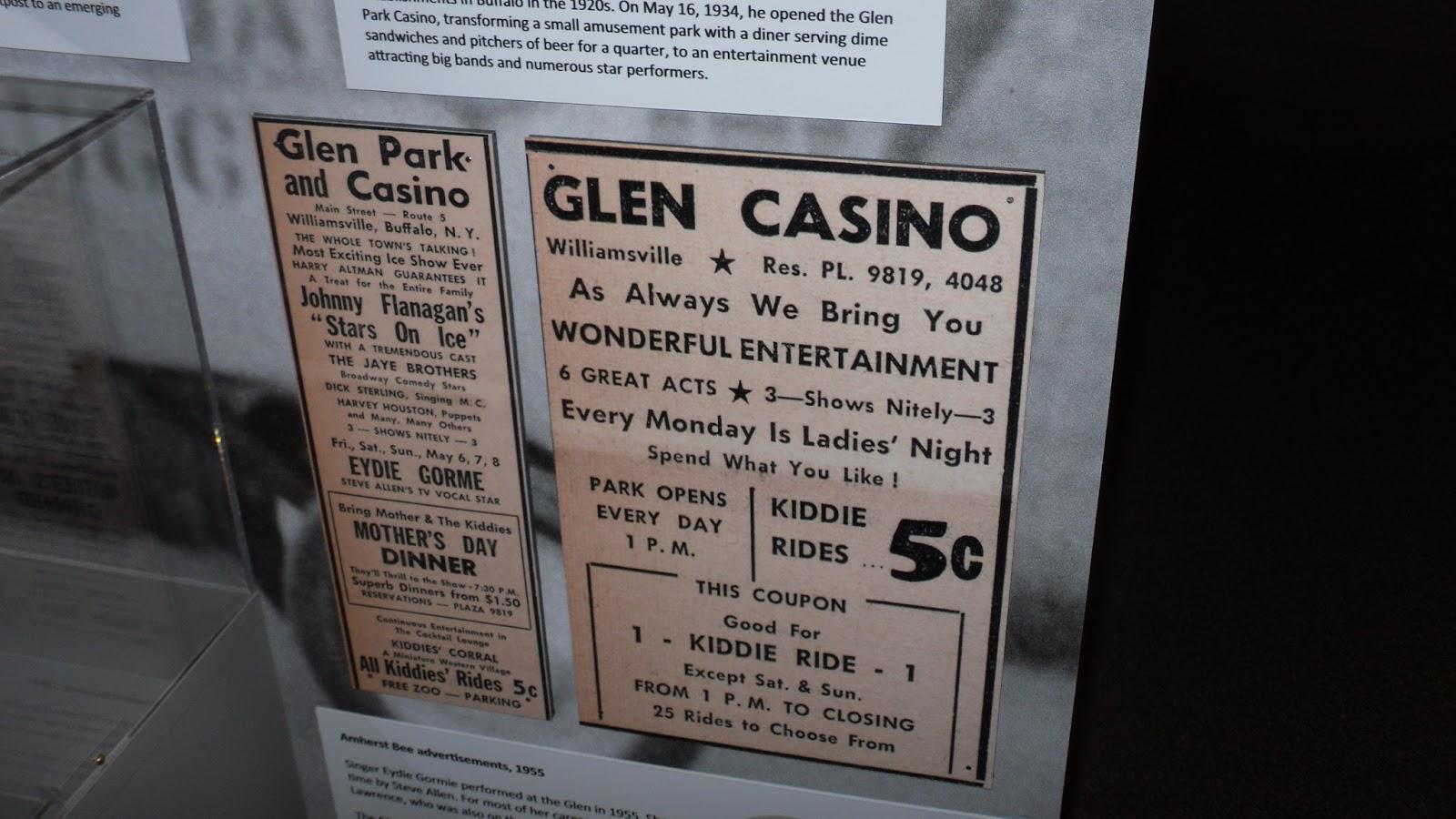 Glen park casino and amusement park new york