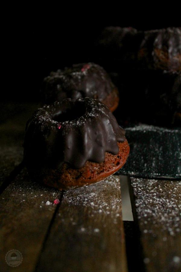 spicy chocolate mini bundt cake 5