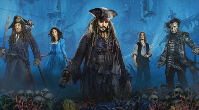 TRILHA SONORA COMPLETA DO FILME:  PIRATAS DO CARIBE: A VINGANÇA DE SALAZAR (Soundtrack Pirates of the Caribbean: Dead Men Tell No Tales) - Capa Praia