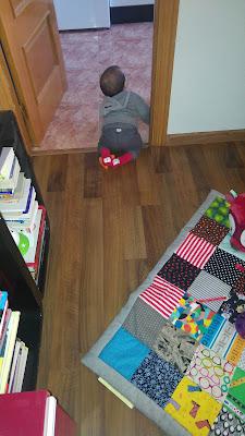 modistilla de pacotilla manta de retales juegos patchwork juguete bebé minipacotillo