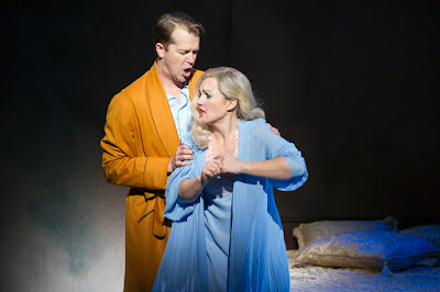 Nico Muhly: Marnie - Daniel Okulitch & Sasha Cooke - English National Opera (Photo Richard Hubert Smith)