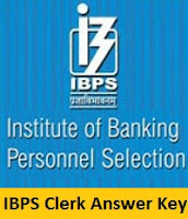 IBPS Clerk Answer Key