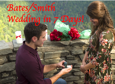 Tori Bates wedding countdown Bobby Smith