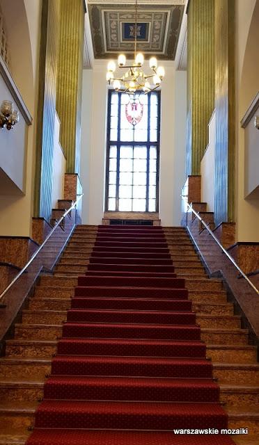 Warszawa Warsaw Nowogrodzka Państwowy Bank Rolny monumentalizm Marian Lalewicz architektura architecture klatka schodowa