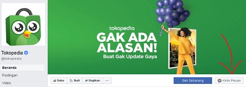 Facebook Tokopedia