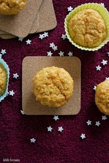 fit muffinki marchewkowe