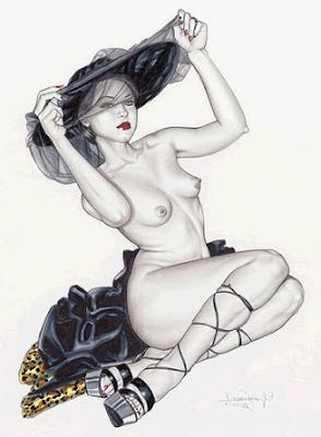 Erotic woman