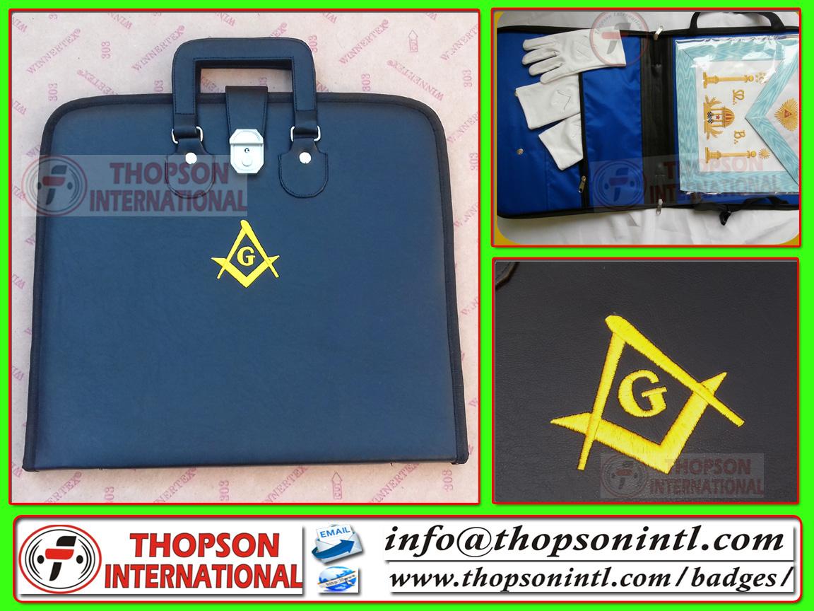Masonic Regalia thopson: Masonic Apron & chain collar cases