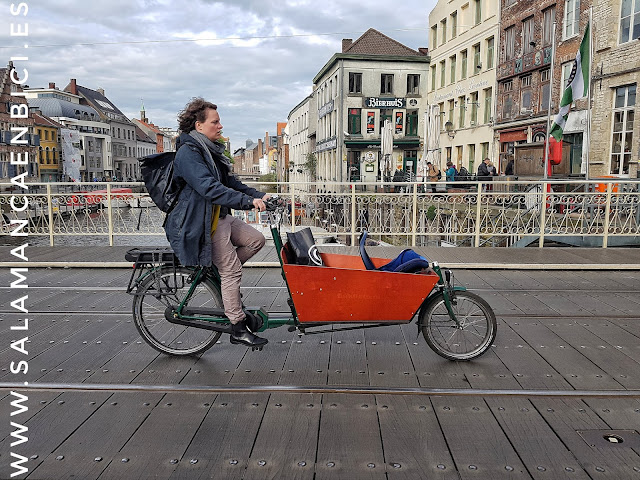 Cargo bike, Gante, Ghent