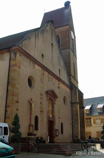 Iglesia de San Pedro y San Pablo, Eguisheim