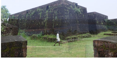 chandragiri fort and river kasaragod