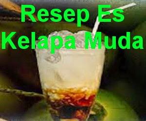 Resep Segarnya Es Kelapa Muda Gula Jawa