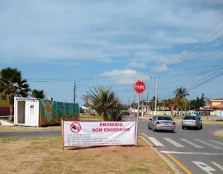 Ilha Comprida reforça campanha contra som automotivo excessivo