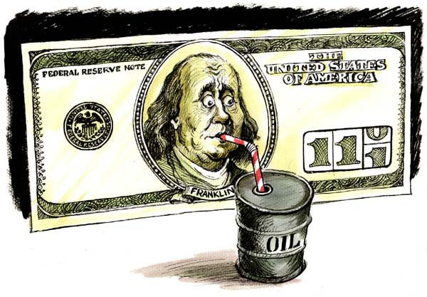 Америка нефть
