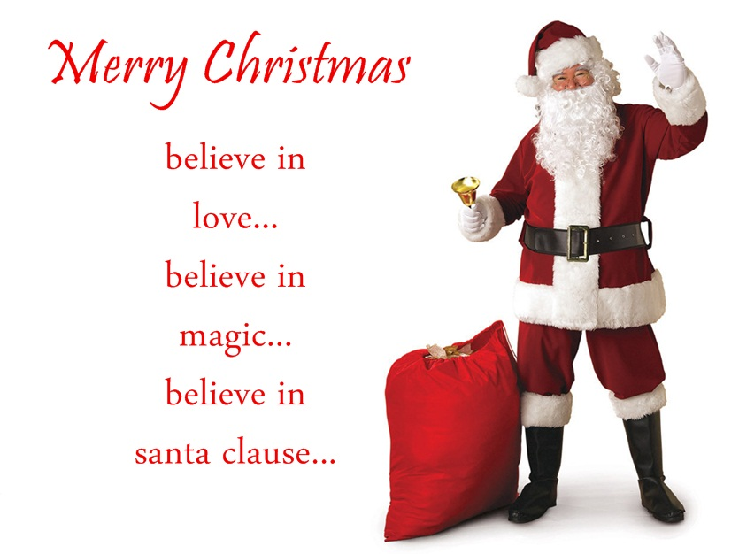 High Quality Superieur Best Christmas Santa Quotes And Sayings With Santa Images Merry  Christmas ...