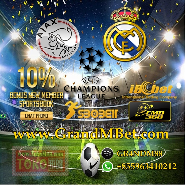 Prediksi Liga Champions Ajax VS Real Madrid