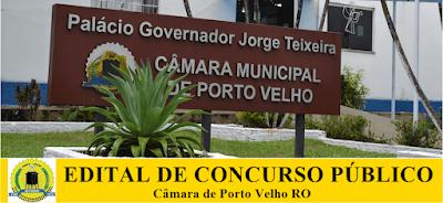 Concurso da Câmara de Porto Velho RO (APOSTILAS 2018)