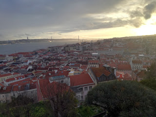 Vistas del Castillo de San Jorge. Foto de Teresa Rey.