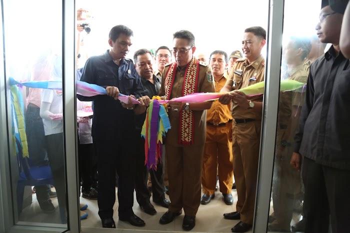 Plt Bupati & Plt Dinkes Menghadiri Peresmian Gedung Baru UPTD Puskesmas Jabung