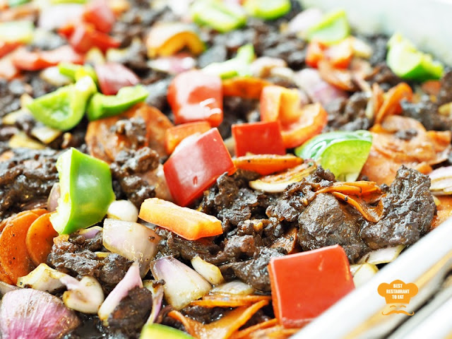 Black Pepper Beef - Ramadhan Buffet 2018 Bangi Golf Resort BGR Selangor
