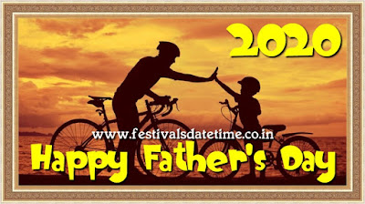 2020 Father's Day Date 21 June 2020