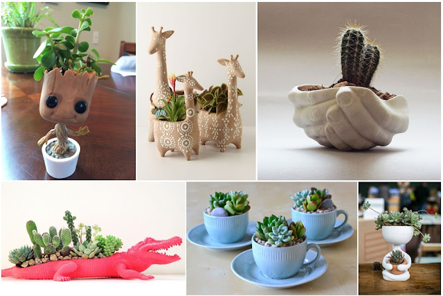 Elegant Home Planting Pots Decorations