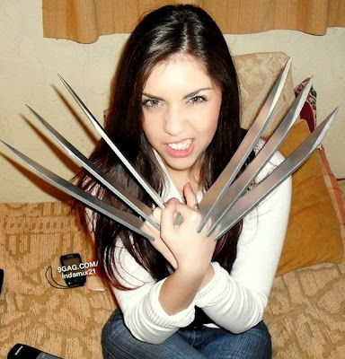 The Incredible Stuffs: X23 Cosplay by Mariana Silvera X 23 Cosplay