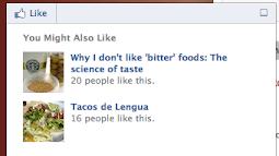 Add Facebook Social Recommendation Bar