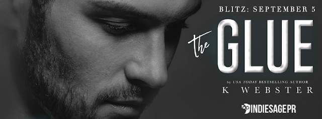 THE GLUE by K Webster @KristiWebster @IndieSagePR #NewRelease #AvailableNow #Review #TheUnratedBookshelf