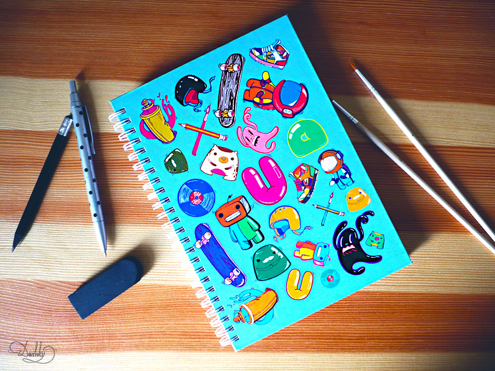 Sketch Book Cover ~ Sketchbook cover design