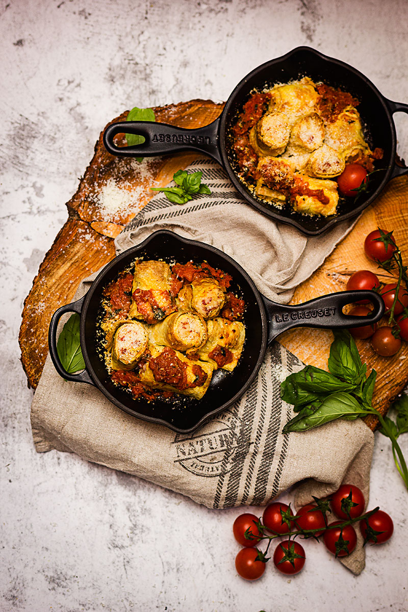 Tortillas rellenas de bechamel #RecetasdeConventos