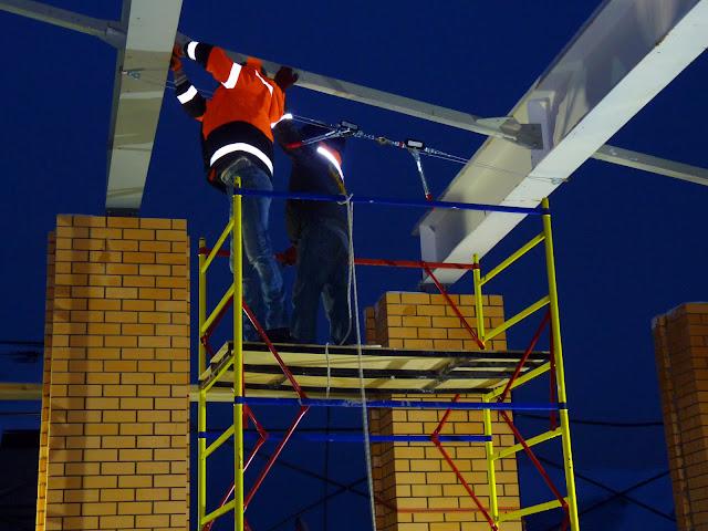 Монтаж металлоконструкций в Пестово