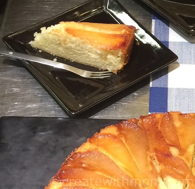 becel pear cake