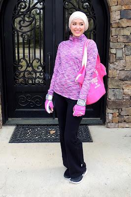 gym hijab tutorial