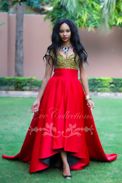 Sophie Mbeyu Blog LADY IN RED EVE COLLECTIONS!