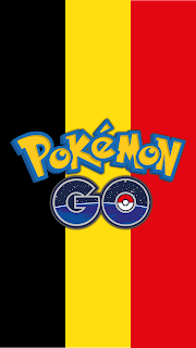 Wallpaper Pokemon GO flag Belgium Mobile Android and Iphone Free