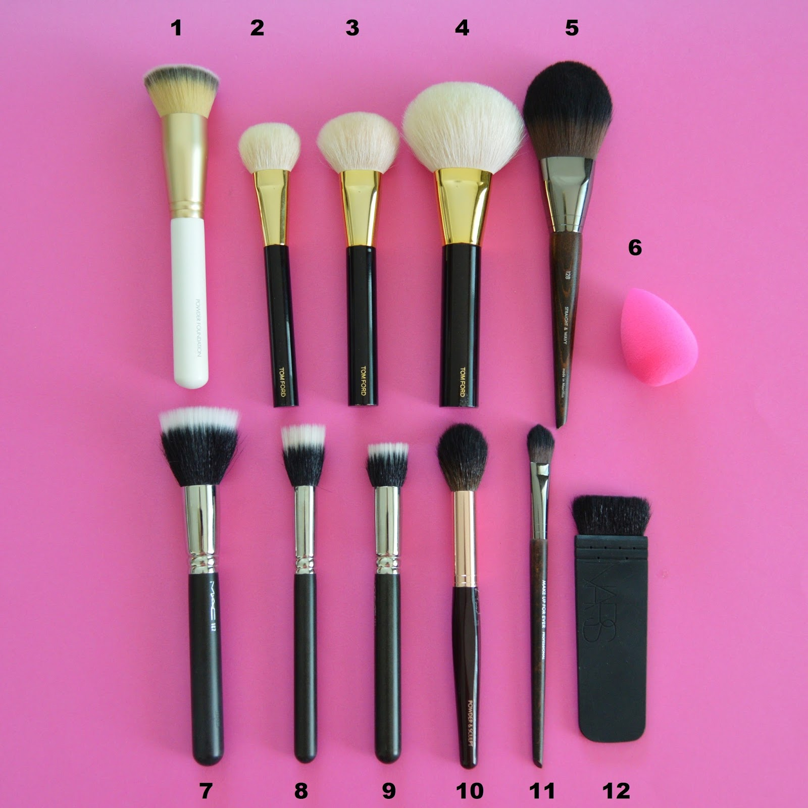 Pics of : Makeup Brushes Equivalent To Mac