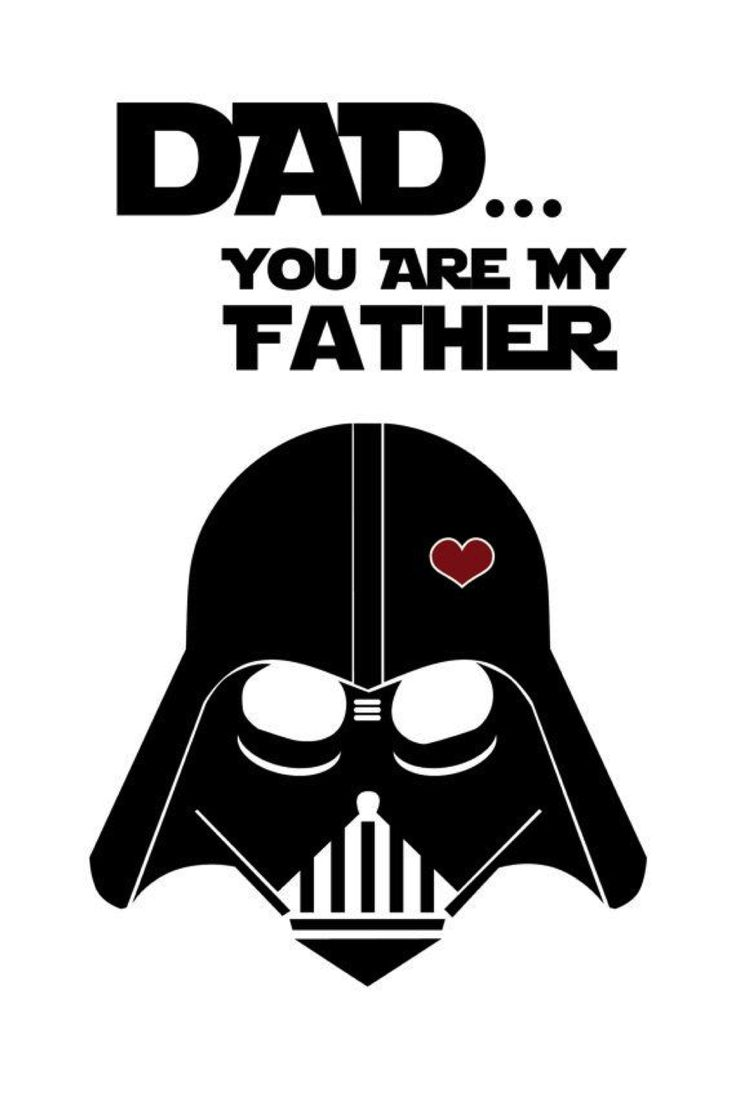 Darth Vader: Father´s Day Cards. - Oh My Fiesta! for Geeks