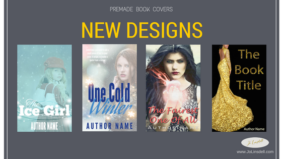 New Pre-Made Book Cover Designs Now Available