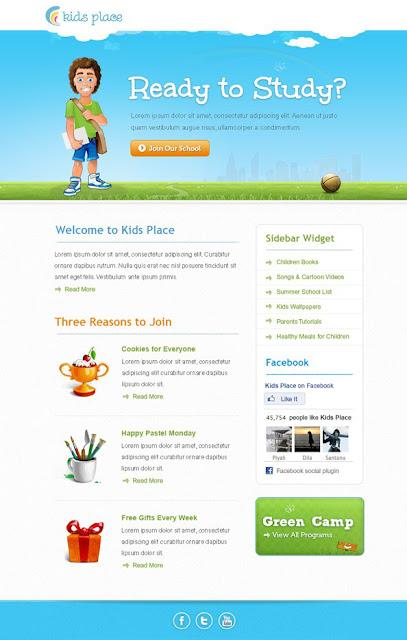 兒童系列廣告設計