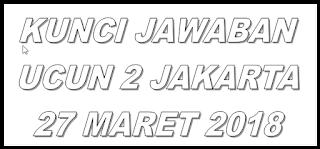 JAWABAN UCUN 2 PAKET A
