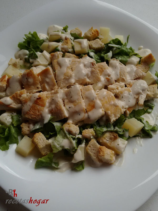 Deliciosa ensalada César