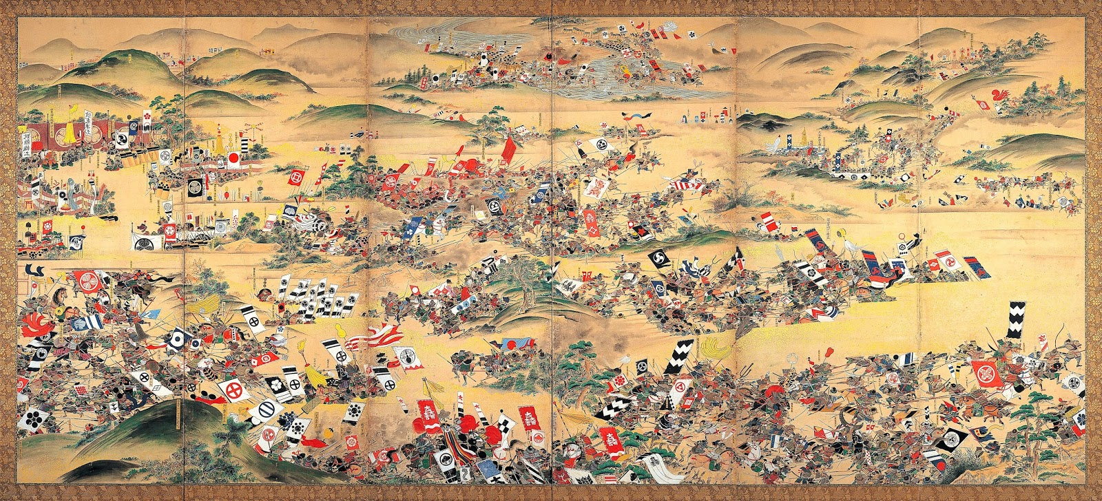 Sengoku Period Warfare: Part 1 - Army and Battle Formations