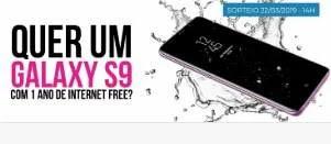 Cadastrar Promoção Dumont Galaxy S9 Com 1 Ano de Ligação e Internet