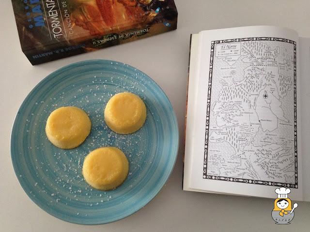 Pastelitos de limón de Sansa: receta de Juego de Tronos
